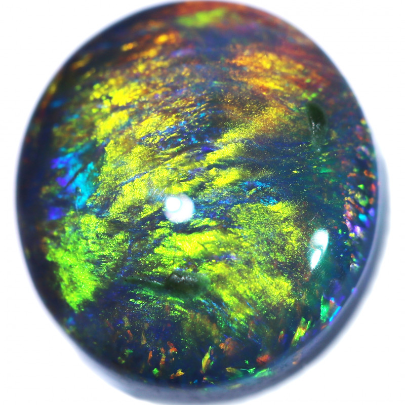 3.16 CTS BLACK OPAL STONE-FROM LIGHTNING RIDGE - [LRO1863]