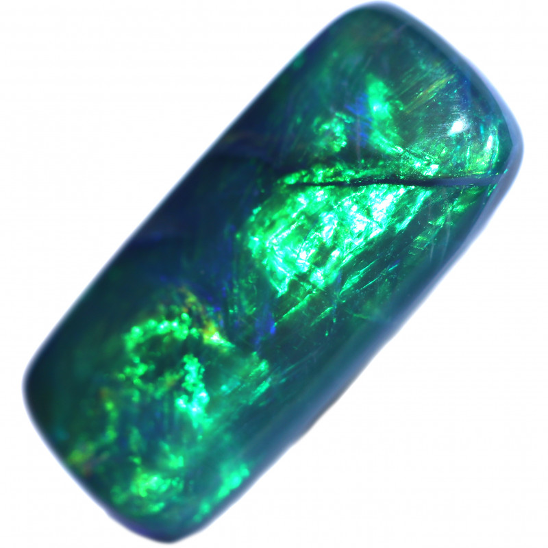 1.54 CTS BLACK OPAL STONE-FROM LIGHTNING RIDGE - [LRO1873]
