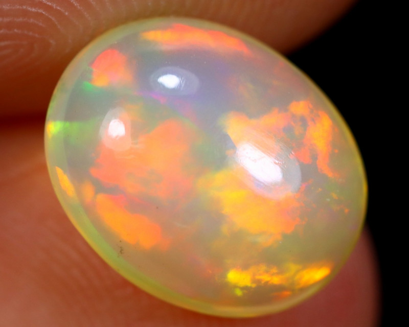 2.10cts Natural Ethiopian Welo Opal / BF6109