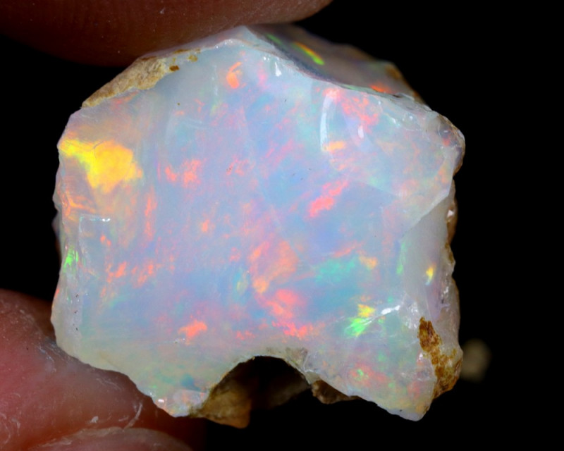 8cts Natural Ethiopian Welo Rough Opal / WR6796