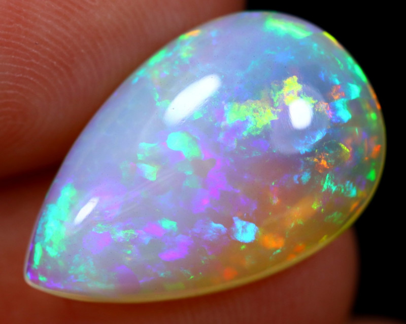 7.04cts Natural Ethiopian Welo Opal / BF6183