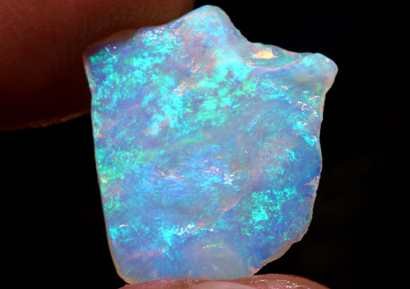 2.25CTS COOBER PEDY CRYSTAL OPAL FACED ROUGH DT-A4527