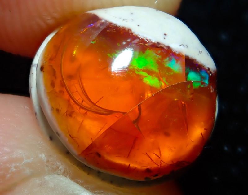3.73ct Mexican Matrix Cantera Multicoloured Fire Opal