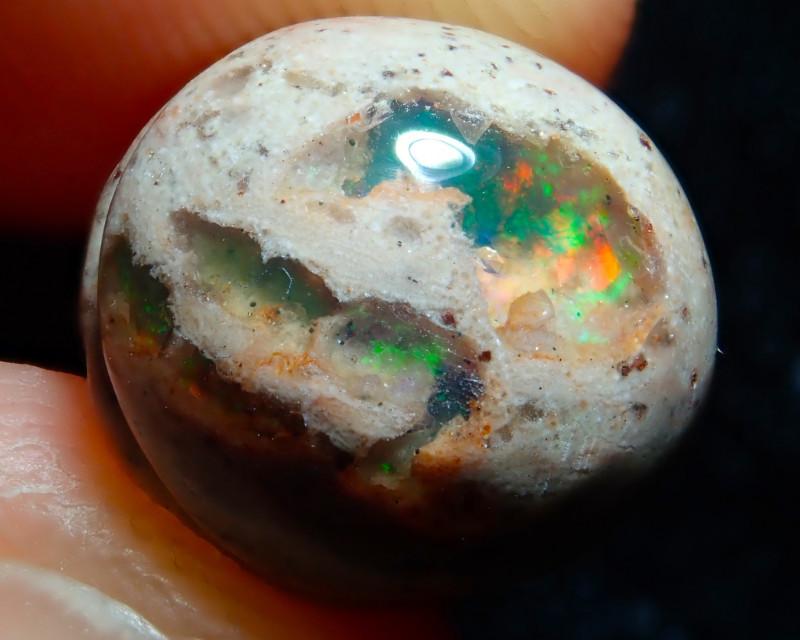 6.1ct Mexican Matrix Cantera Multicoloured Fire Opal