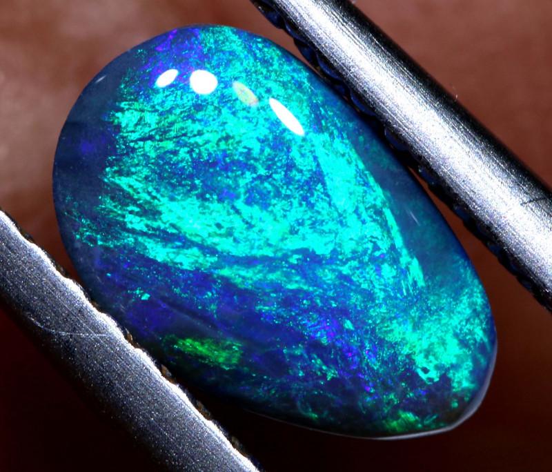 N3 -   1  cts    black opal stone lightning ridge TBO-A2988