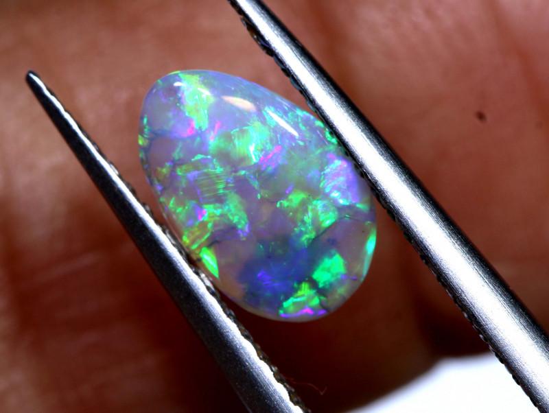 0.75 cts  crystal opal stone lightning ridge   TBO-A2990