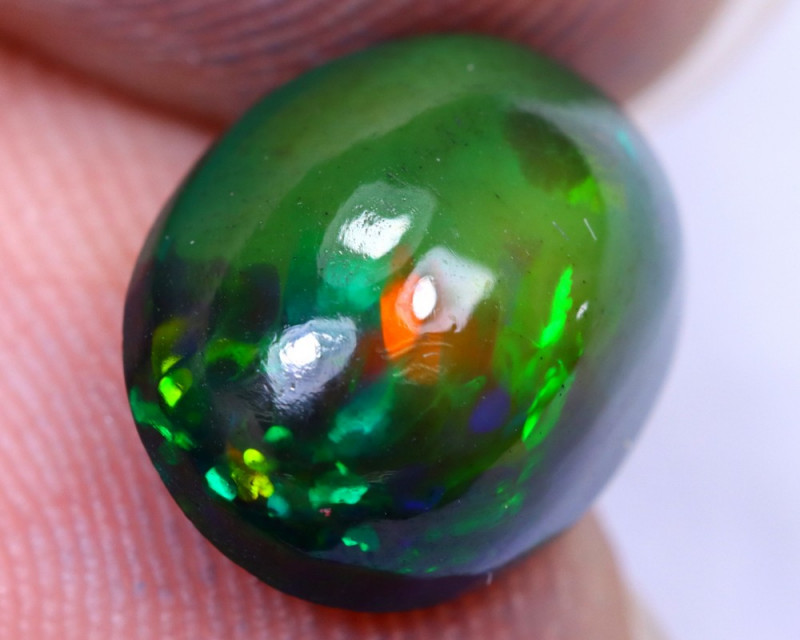 2.38cts Natural Ethiopian Welo Smoked Opal / HM2307