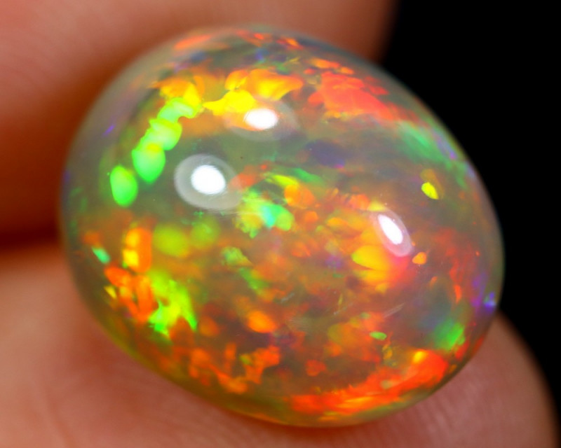 5.88cts Natural Ethiopian Welo Opal / BF6253