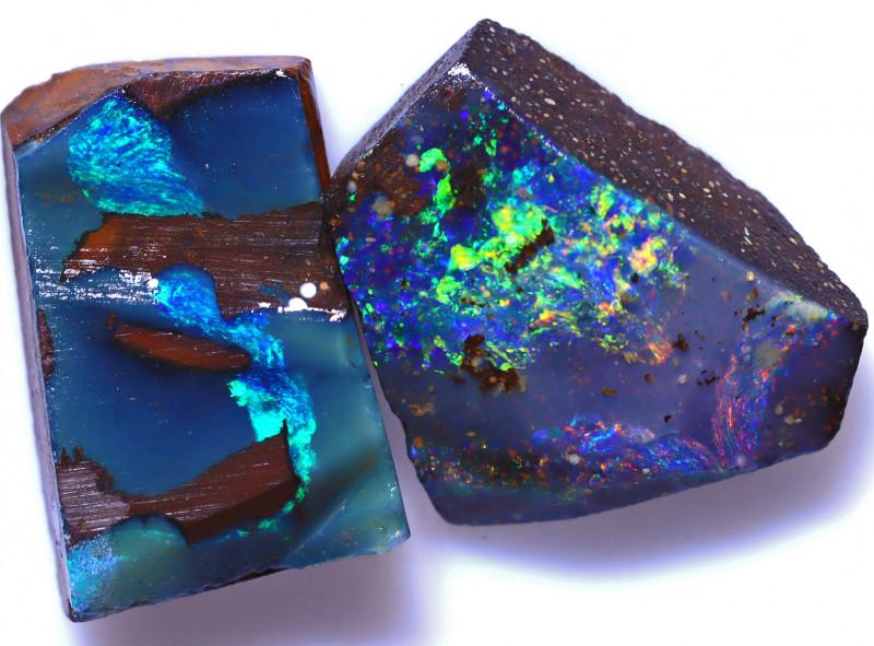 12.38 Carats Boulder Opal Rub Parcel ANO-1552