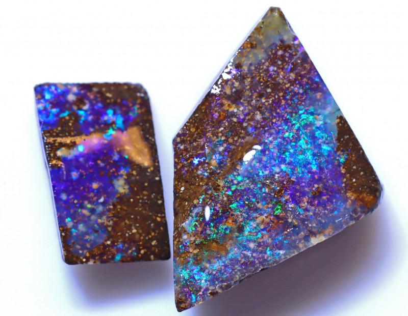 18.87 Carats Boulder Opal Rub Parcel ANO-1553