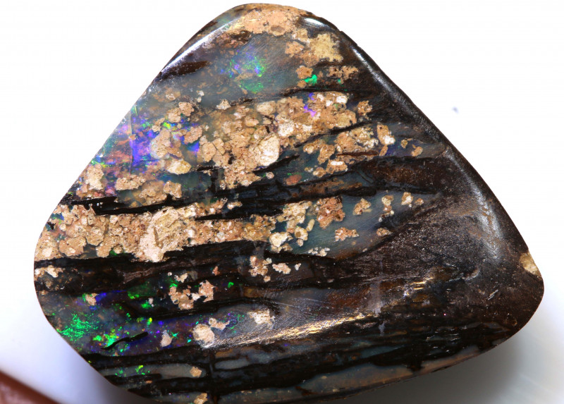 14.70 cts boulder opal polished cut stone  TBO-A3005