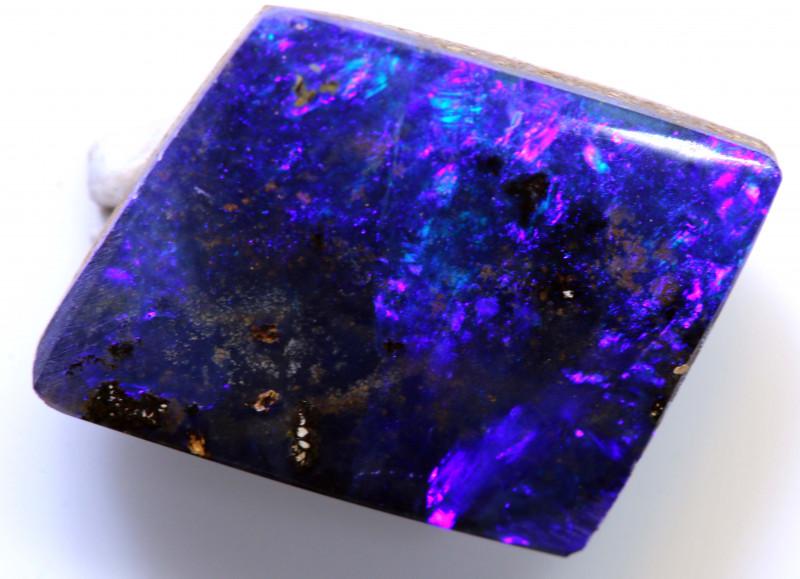 5.80 cts boulder opal polished cut stone  TBO-A3010