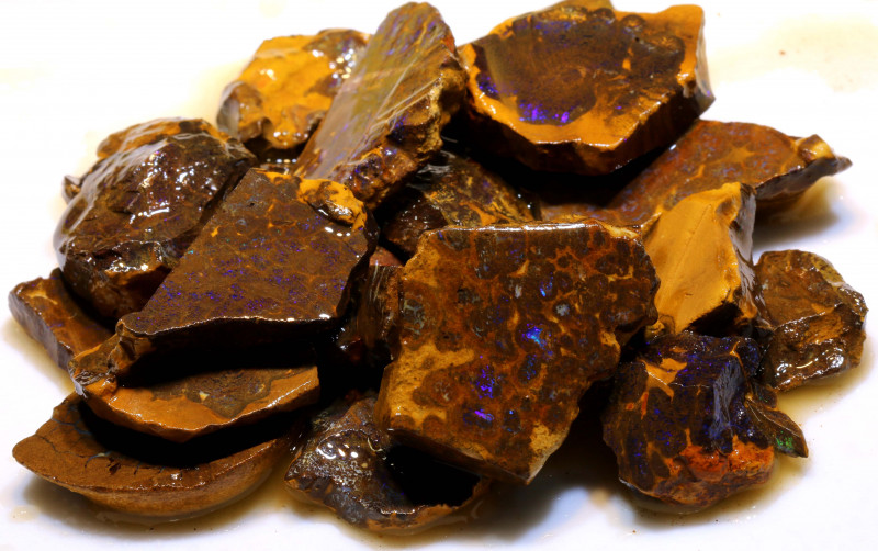 850cts boulder matrix rough parcel ado-7912