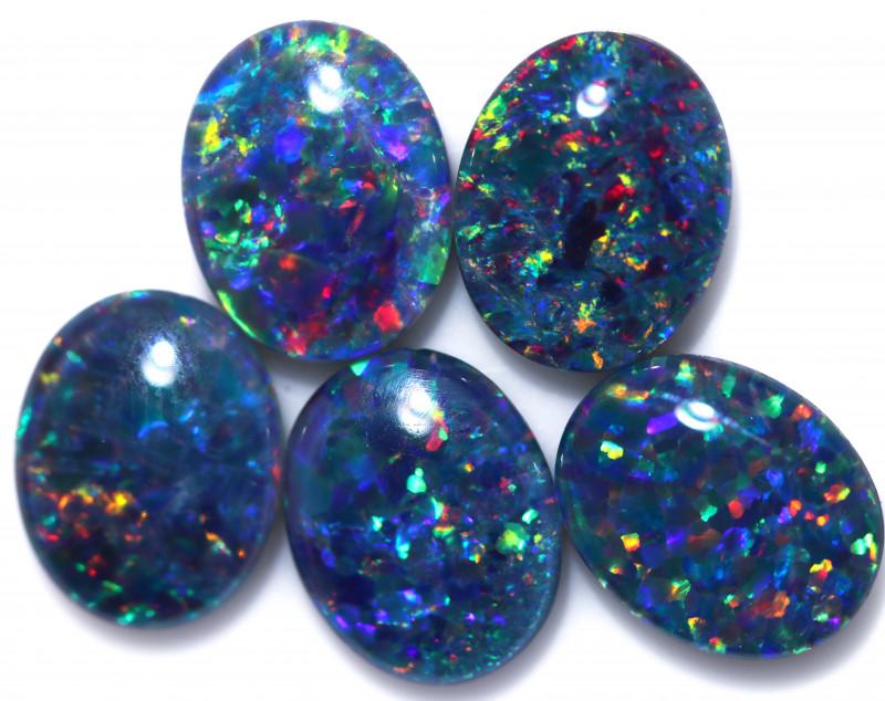 9.00 Cts   Parcel 5 Australian Triplet  Opals CCC 2568