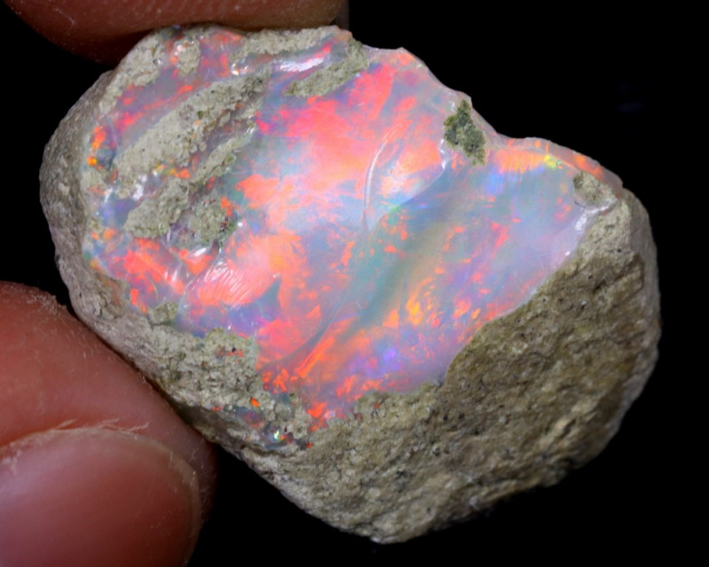 9cts Natural Ethiopian Welo Rough Opal / WR6881