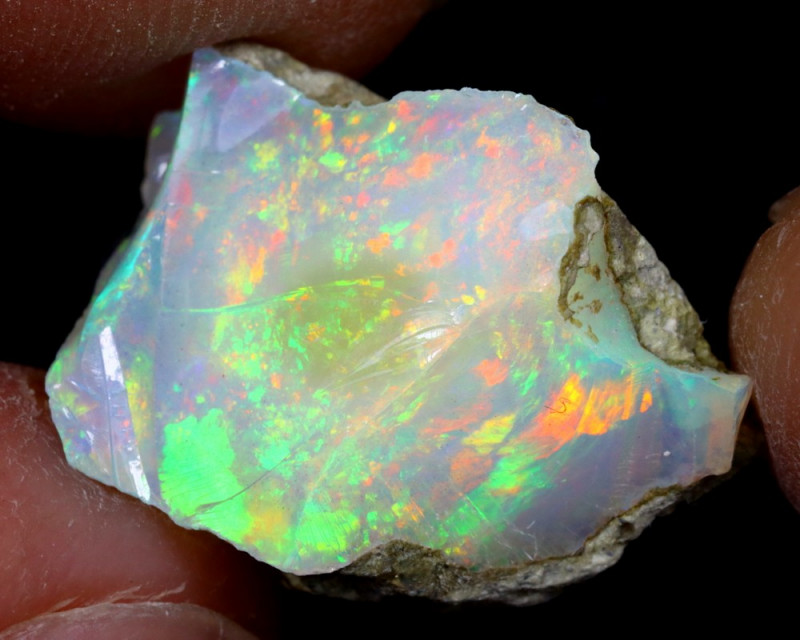 8cts Natural Ethiopian Welo Rough Opal / WR6884