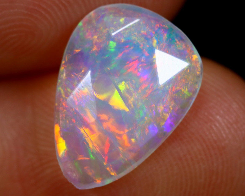 Rose Cut 1.36cts Natural Ethiopian Welo Opal / NY1620