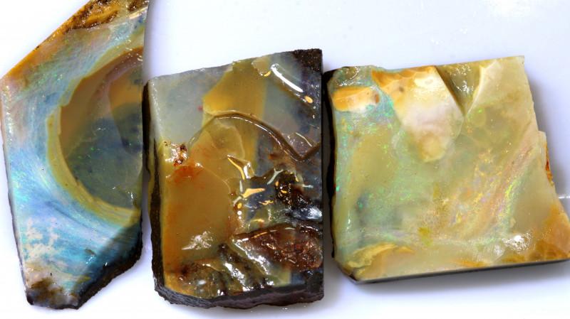 39.30 cts boulder opal pre shaped rub parcel ado-7943