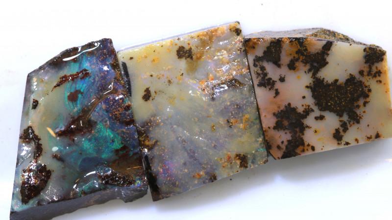 39.70 cts boulder opal  rub parcel ado-7950