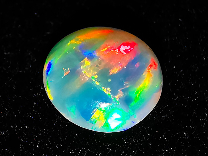 Coober Pedy Australia - Solid Crystal Opal - 0.45 cts