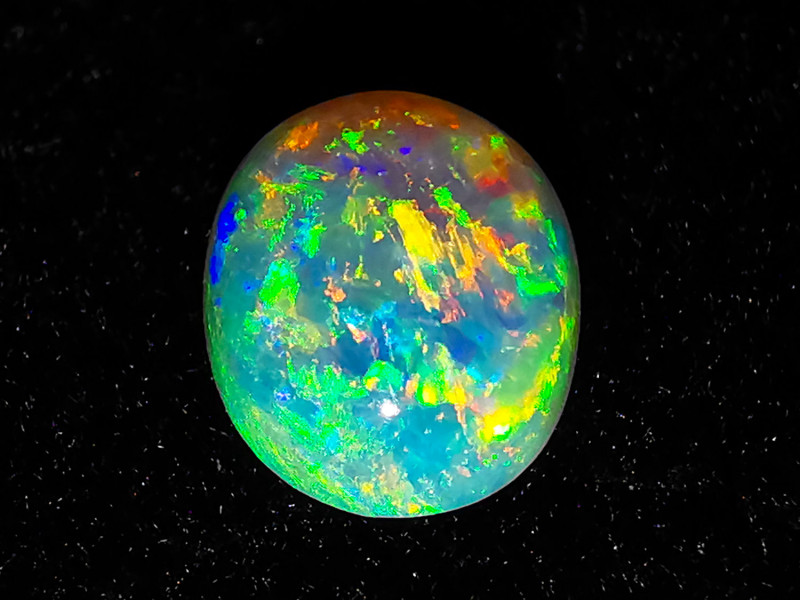 Coober Pedy Australia - Solid Crystal Opal - 0.62 cts