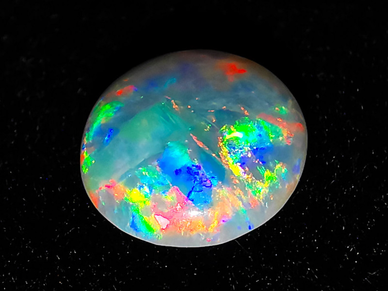 Coober Pedy Australia - Solid Crystal Opal - 0.6 cts