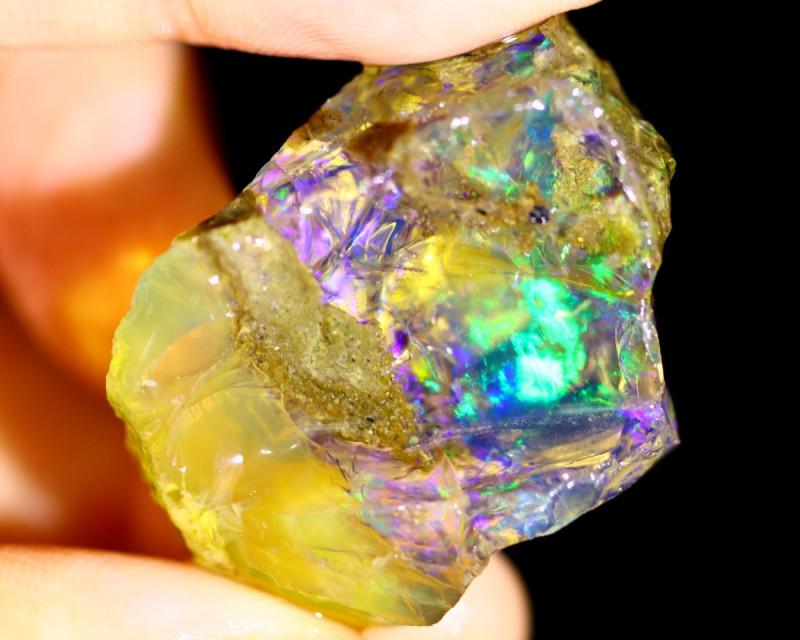 68cts Ethiopian Crystal Rough Specimen Rough / CR3558