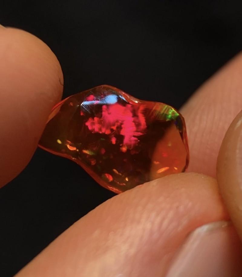Gem Quality 1.350ct Mexican Crystal Opal (OM)