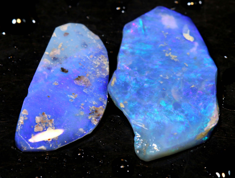 6.65cts Lightning Ridge Crystal Opal Rub Parcel DT-A4646
