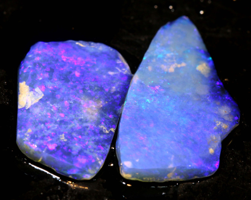 5.00cts Lightning Ridge Crystal Opal Rub Parcel DT-A4652