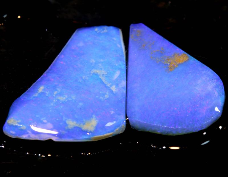 5.00cts Lightning Ridge Crystal Opal Rub Parcel DT-A4658