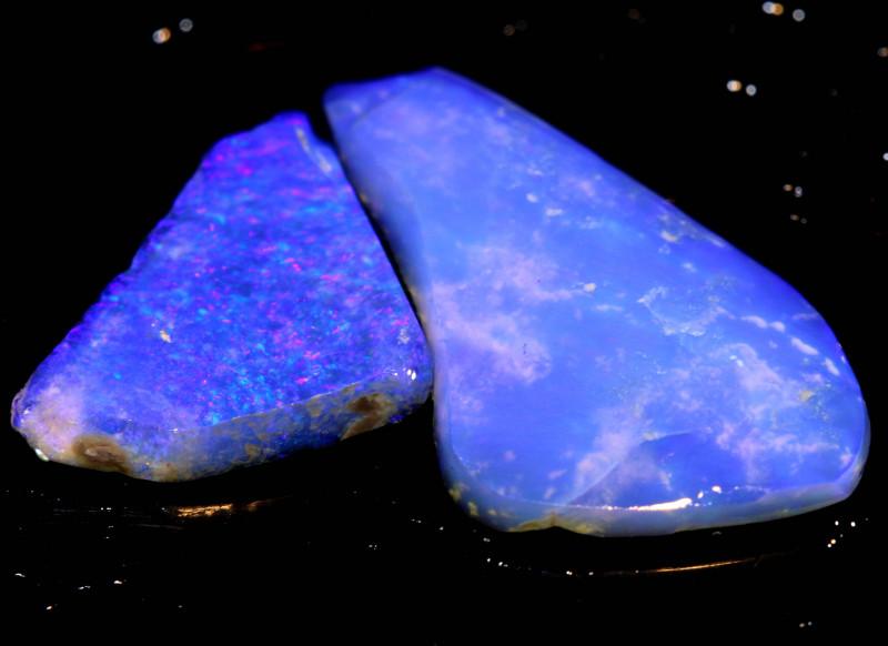 4.95cts Lightning Ridge Crystal Opal Rub Parcel DT-A4663