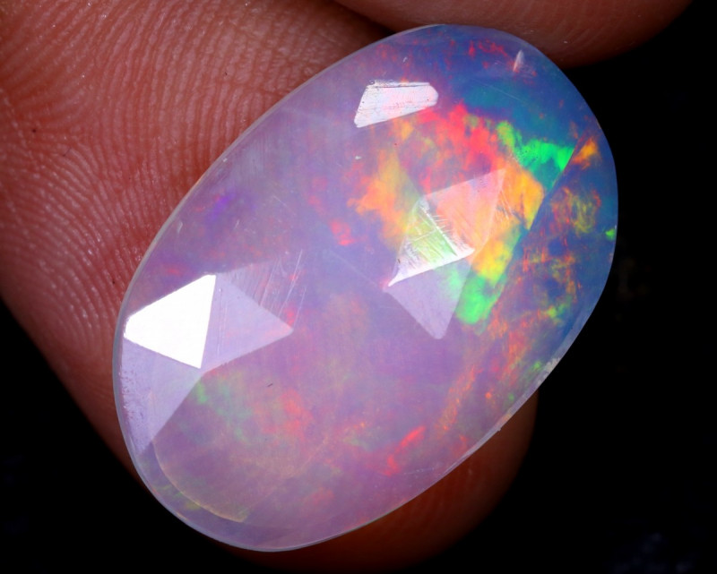 Rose Cut 3.28cts Natural Ethiopian Welo Opal / NY1796