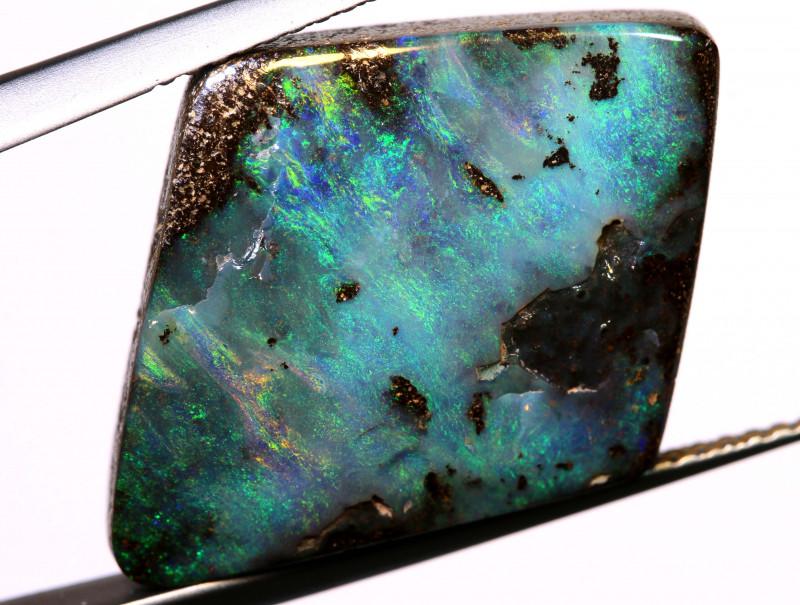 17.55cts boulder opal polished cut stone  TBO-A3071