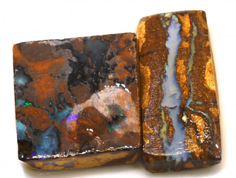68.90cts boulder opal rub parcel ado-8097