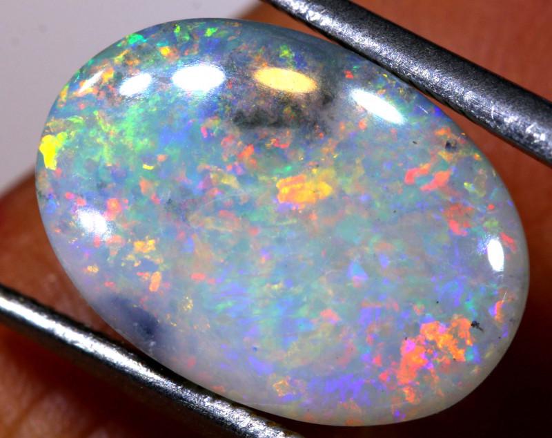 N6-  4.80 cts dark opal stone lightning ridge  TBO-A3081
