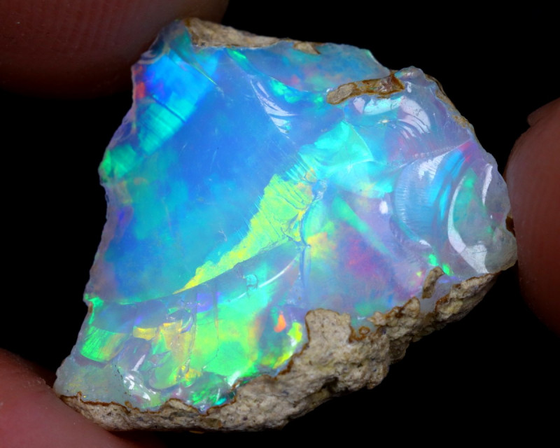 6cts Natural Ethiopian Welo Rough Opal / WR7021