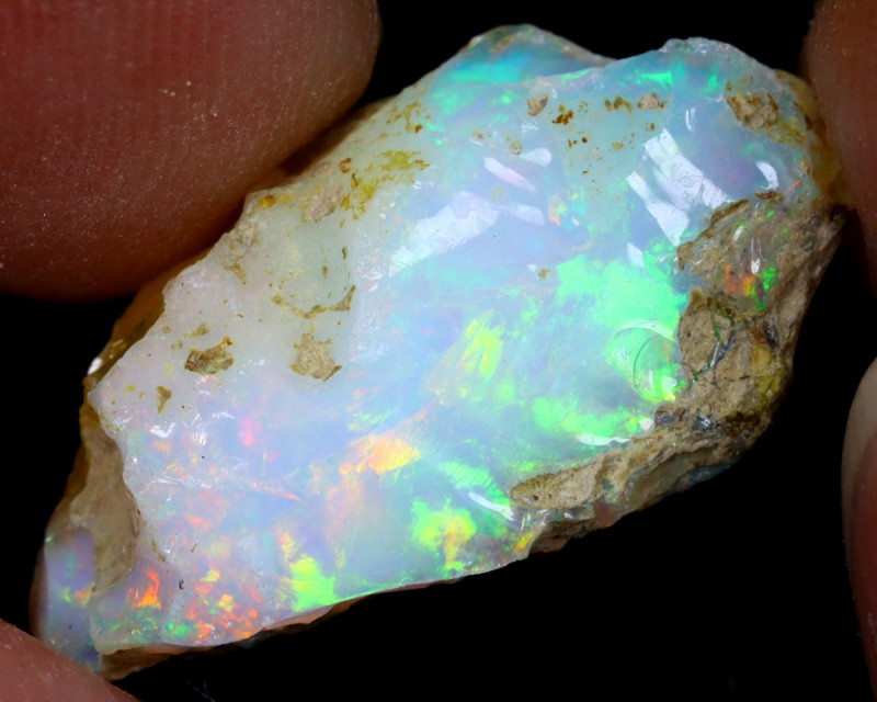 9cts Natural Ethiopian Welo Rough Opal / WR7054
