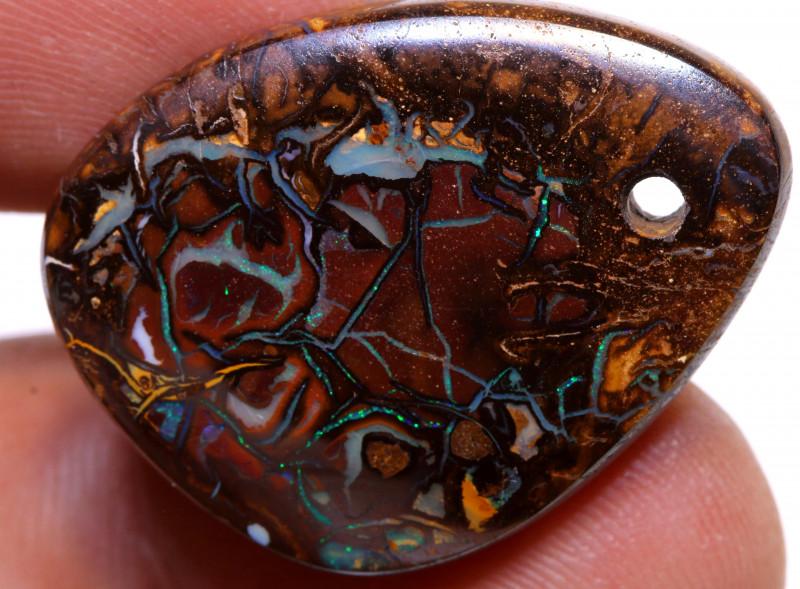 Koroit Boulder Opal Stone AOH-267 - australianopalhunter
