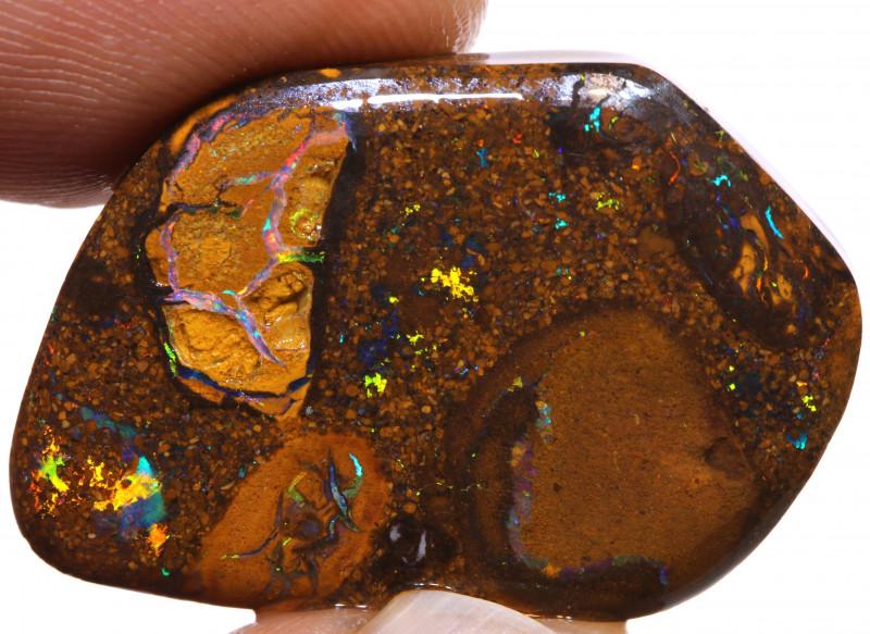Koroit Boulder Opal Rough DO-1574 - downunderopals