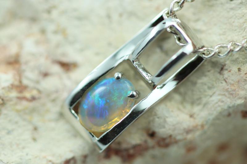 Cute Stylish Crystal Opal Pendant  CCC 3031