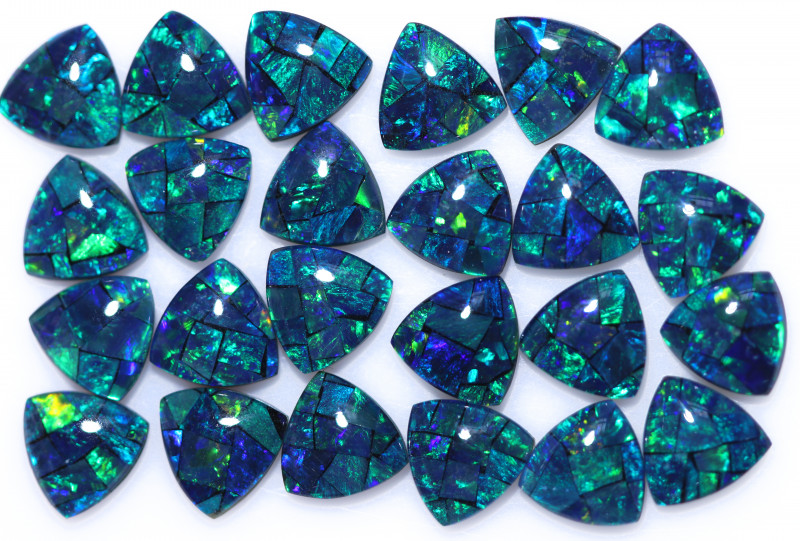 18 Cts  Tri Australian Opal Triplet Mosaic     CCC 3151