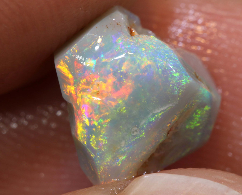 2.85cts Mintabie Opal Pre Shaped Rub ADO-8421-adopals
