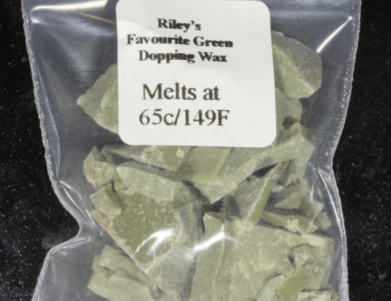 Green Dopping Wax- Riley's Favourite  65C/149F [33221]