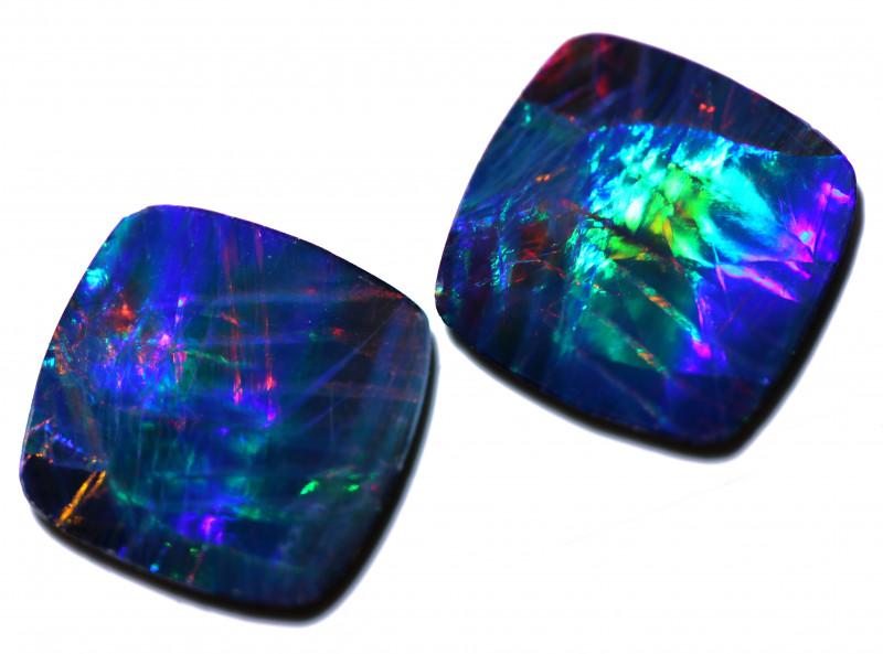 2.23 CTS OPAL DOUBLET PAIRS CALIBRATED  [SEDA7958]
