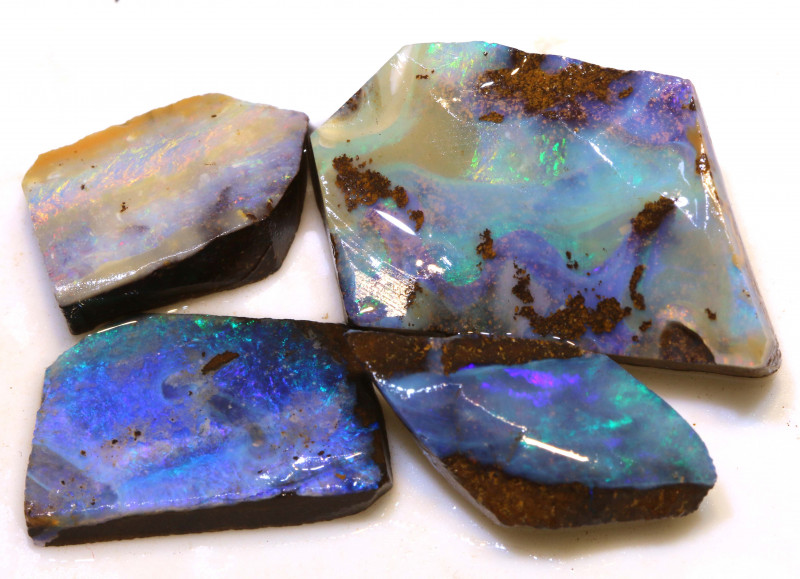 Boulder Opal Rough Parcel 58.65 Carats DOP-129