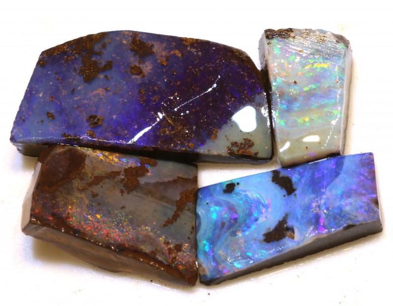 Boulder Opal Rough Parcel 51.45 Carats DOP-133