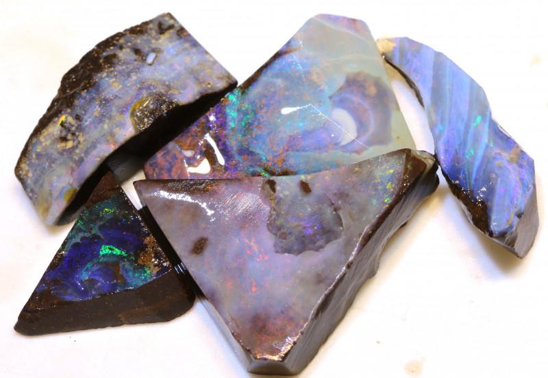 115.95cts  Boulder opal Rough Parcel DOP-147