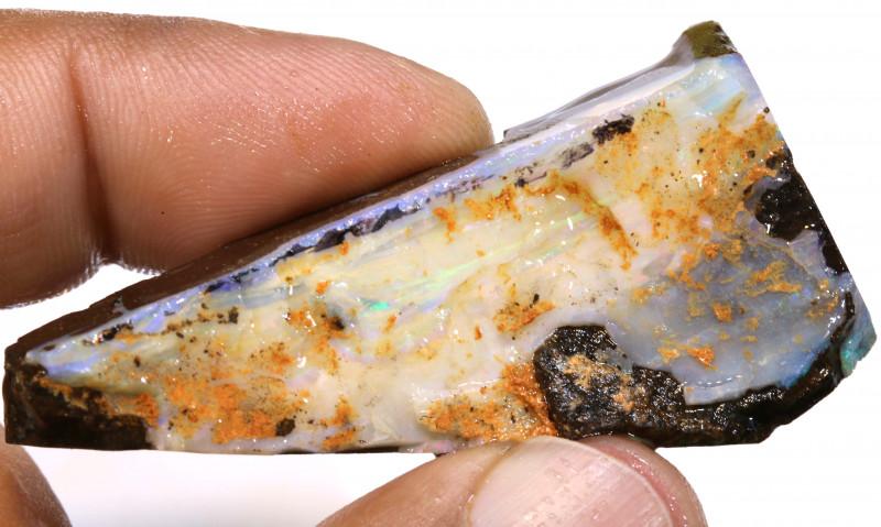 85cts boulder opal rough DT-A4784