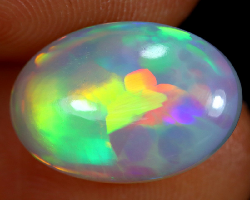 4.18cts Natural Ethiopian Welo Opal / BF6796